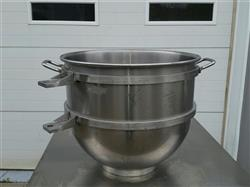 222860 - 80 Qt HOBART HL80 Stainless Steel Bowl for Legacy Mixer