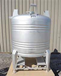 224086 - 256 Gallon Stainless Steel Tank, ''Aseptic'' Sanitary Tote