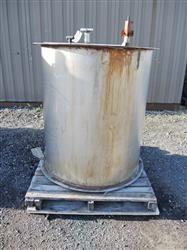 Image 175 Gallon Stainless Steel Tank 661159