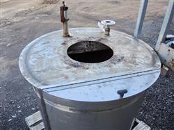 Image 175 Gallon Stainless Steel Tank 661161