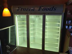 224126 - 78 CF FRIGIDAIRE 3-Door Glass Freezer