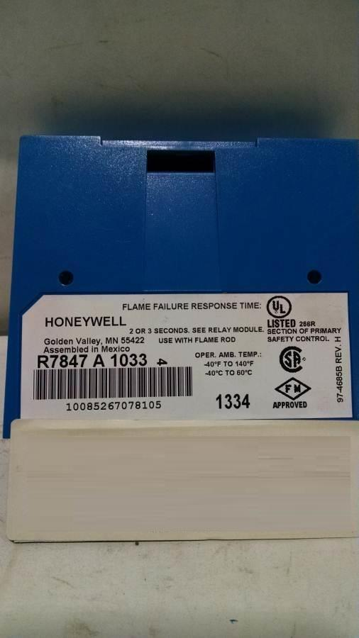 HONEYWELL R7847A1033 Amplifier (Lot of 2)