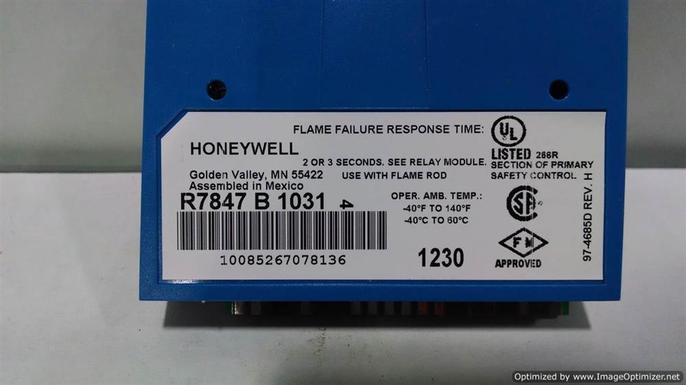 Image HONEYWELL R7847B1031 Amplifier 664255