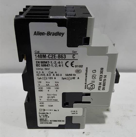 Image COLUMBIA OKURA Motor Circuit Protector (Lot of 4) 664419