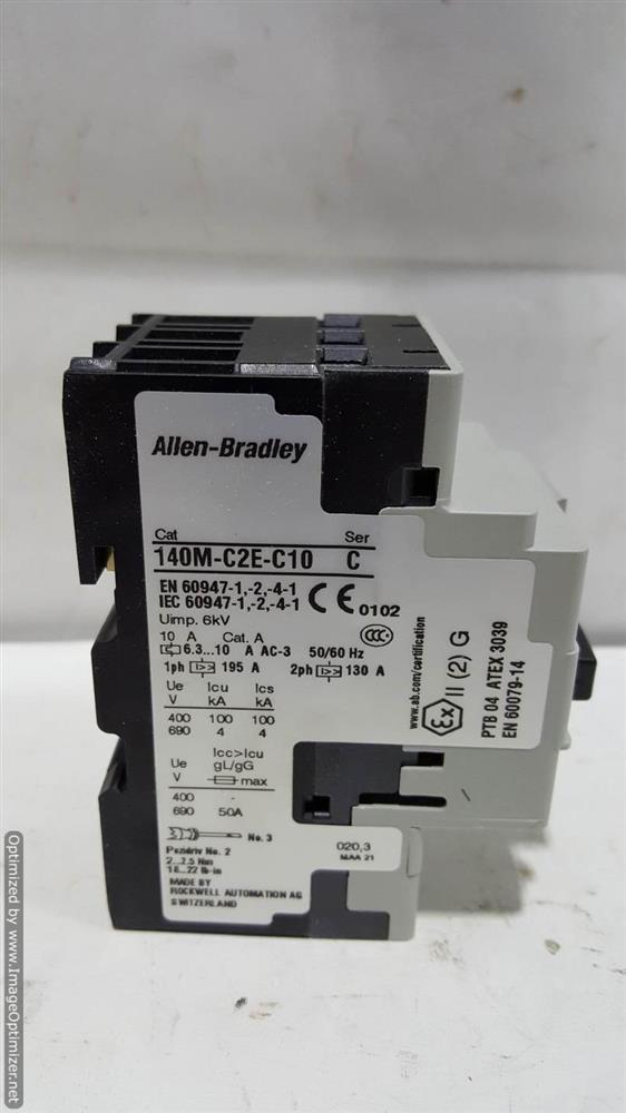 Image COLUMBIA OKURA Motor Circuit Protector (Lot of 4) 664394