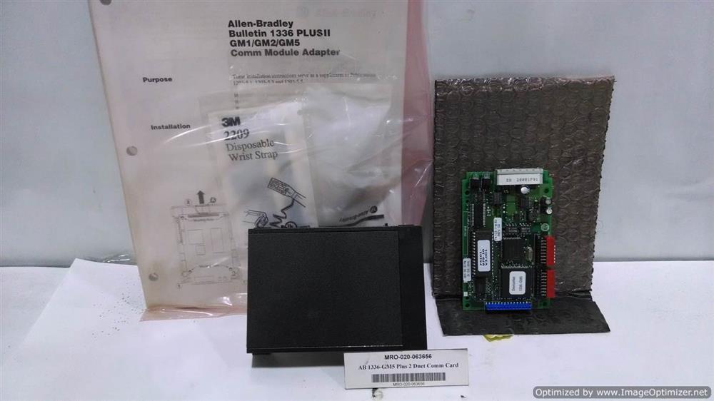 ALLEN BRADLEY 1336-GM5 Comm. Card