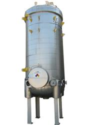 227357 - 4,000 Gal Gaspar Vertical Insulated Carbon Steel Pressure Tank