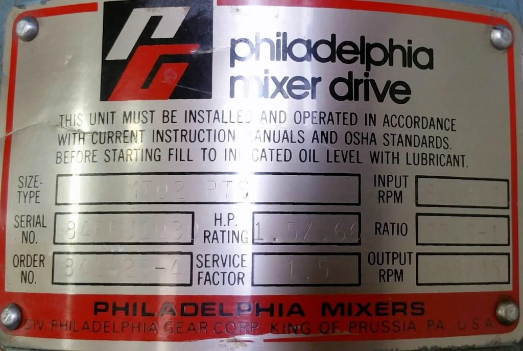 philadelphia mixers corp