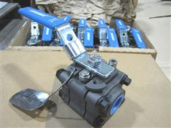 227699 - .5in JAMESBURY Ball Valves Series 4000 - Model B -One Lot Of 15-