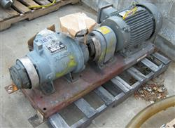 227785 - 15 HP NASH Vacuum Pump Size SC-2