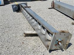 228126 - 12 OD X 12' Screw Conveyor - Stainless Steel
