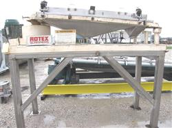 "228450 - 30"" X 60"" Single Deck ROTEX Screener"