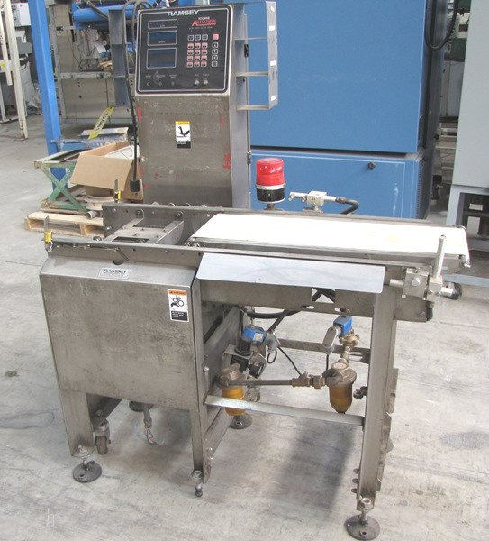RAMSEY Icore Autocheck 8000 Checkweigher - Parts