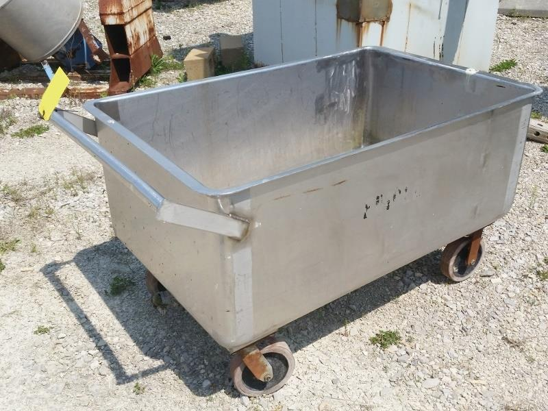 Image Stainless Steel Portable Push Cart 811320