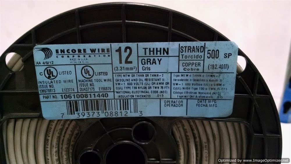 500FT Spools Stranded Wire - 228827 For Sale Used