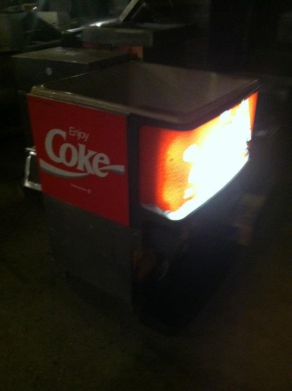 Coke Fountain Dispenser