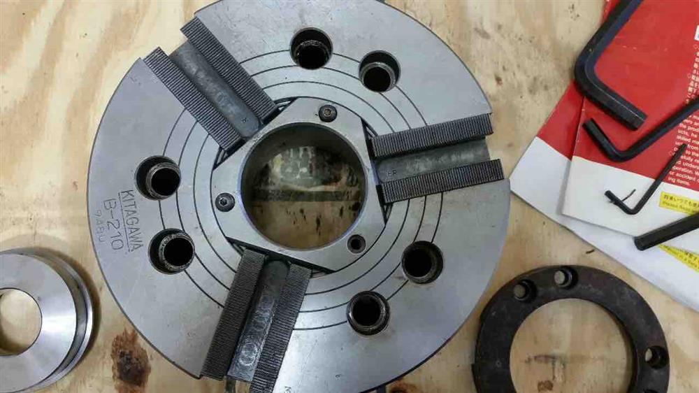 "10"" KITAGAWA B-210 3-Jaw Power Chuck"