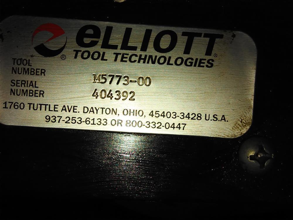 Image ELIOTT M5773-00 Electric Over Hydraulic Tube Tugger Pump 673216