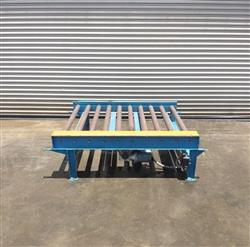 229594 - 60 FEET of LANTECH  Motorized Pallet Conveyor, (12) Sections