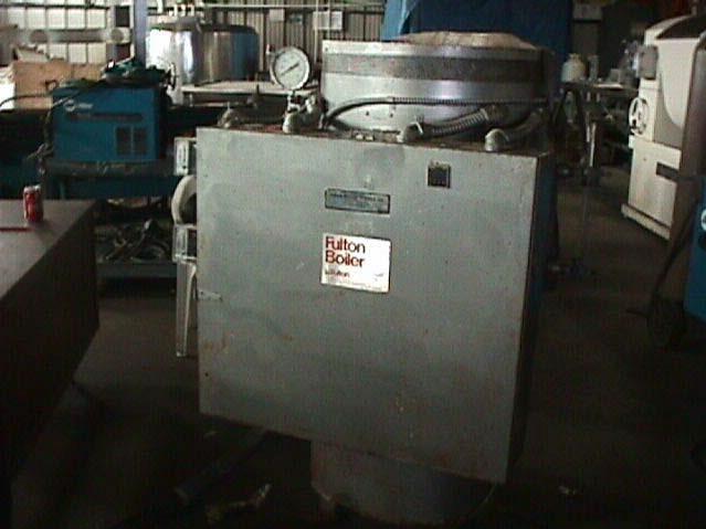 7.5 HP FULTON Boiler