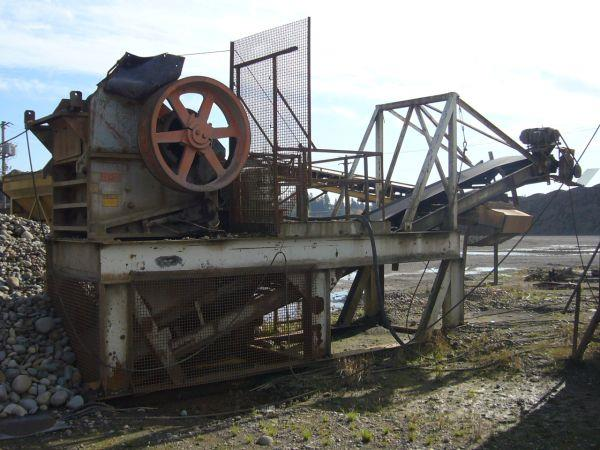 Image 15in x38in TELESMITH Jaw Crusher 690412