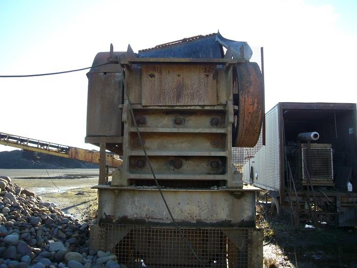 Image 15in x38in TELESMITH Jaw Crusher 690420