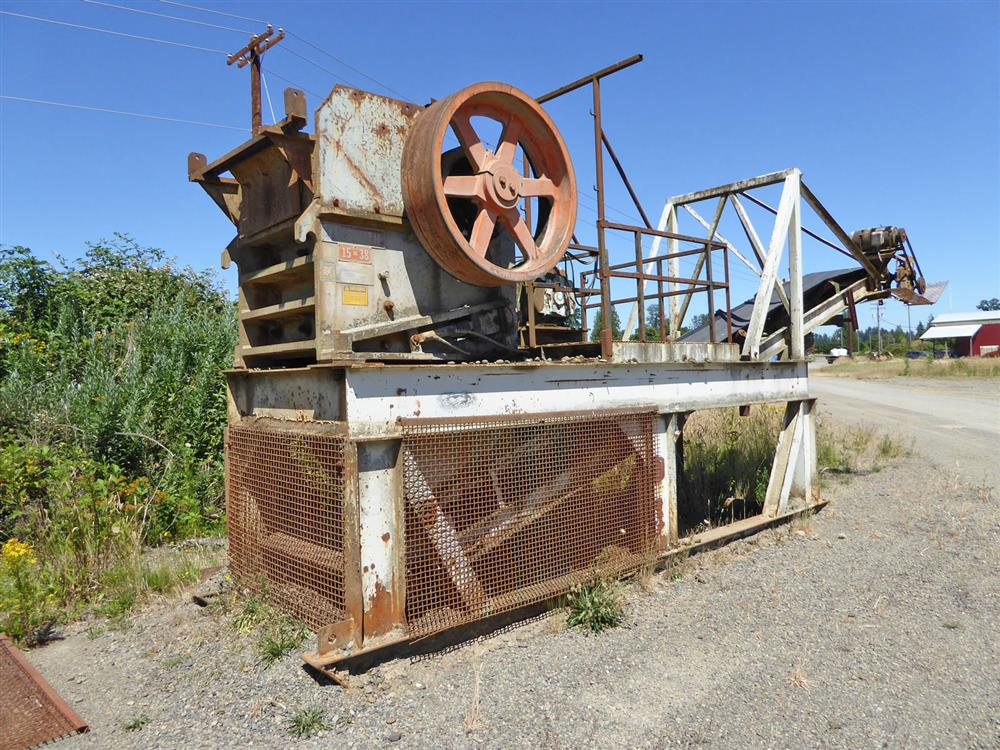 Image 15in x38in TELESMITH Jaw Crusher 690406
