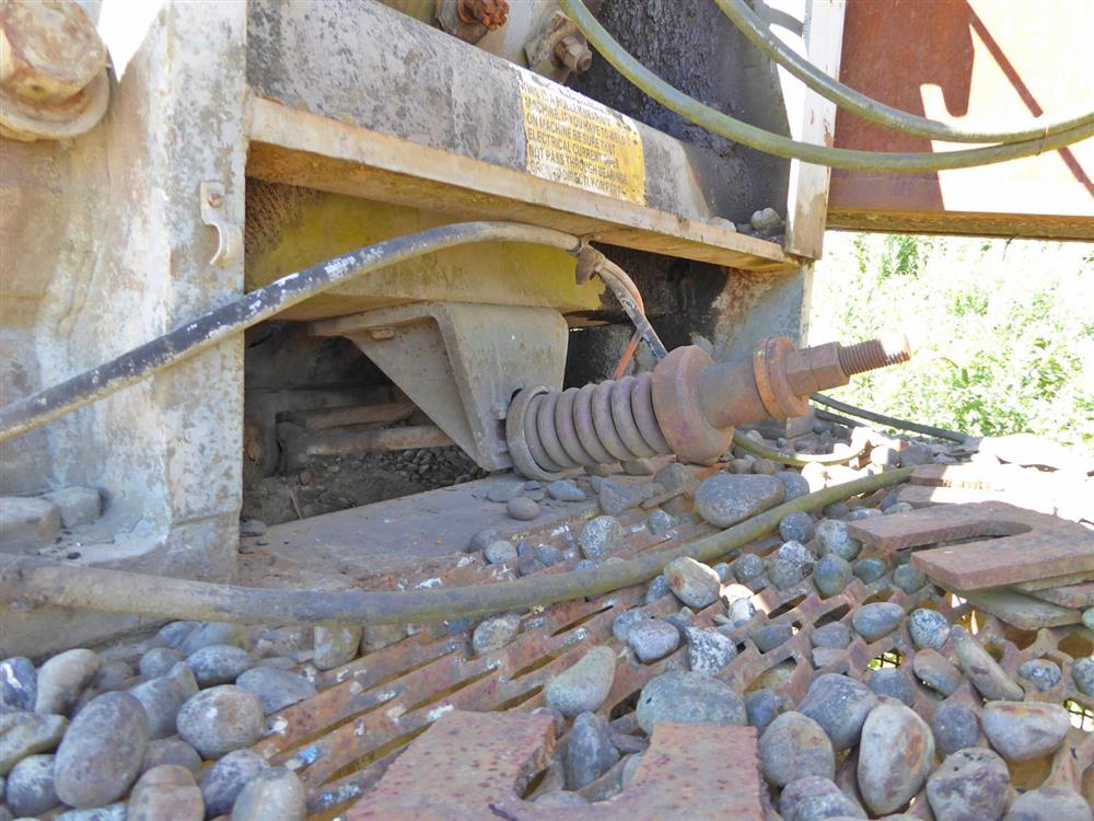 Image 15in x38in TELESMITH Jaw Crusher 690407