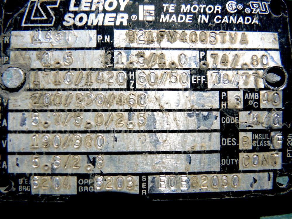 Image 30 CFM STOKES 146 13 Vacuum Pump 675835