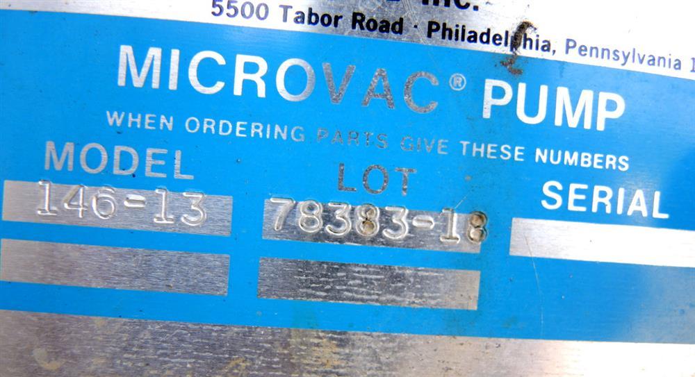 Image 30 CFM STOKES 146 13 Vacuum Pump 675840