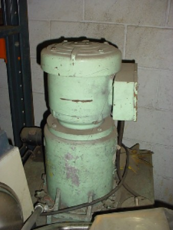 Image 0.5 HP RAYMOND COMBUSTION ENG. Classifier Separator 676084