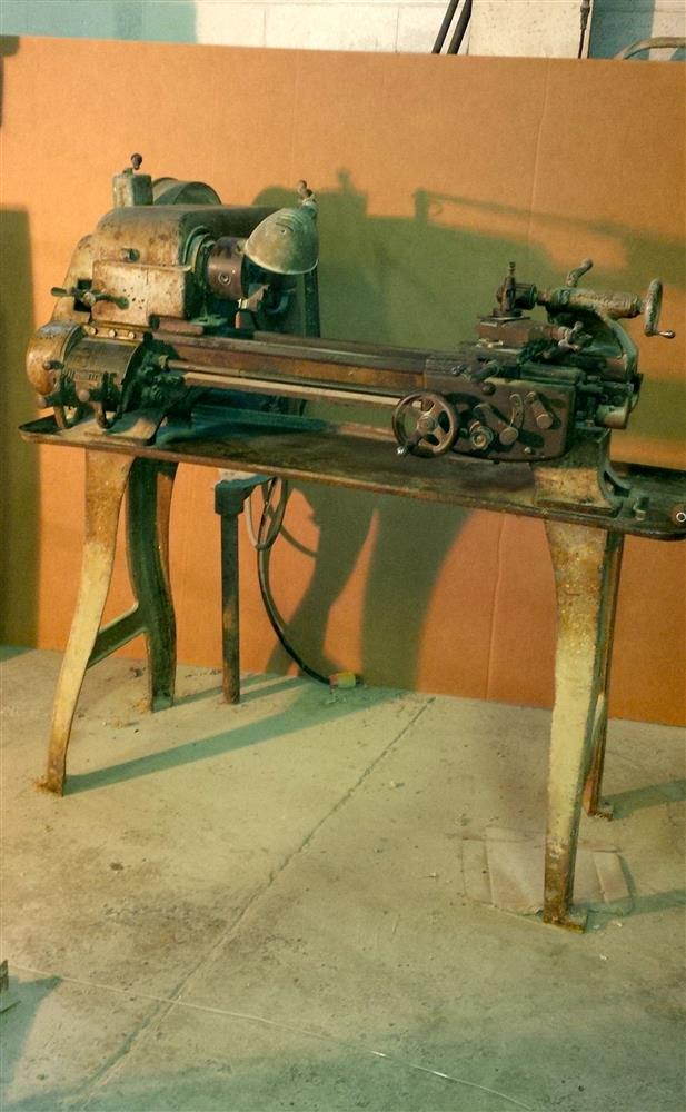 "Image 10"" x 24"" LOGAN Model 820 Lathe 676142"