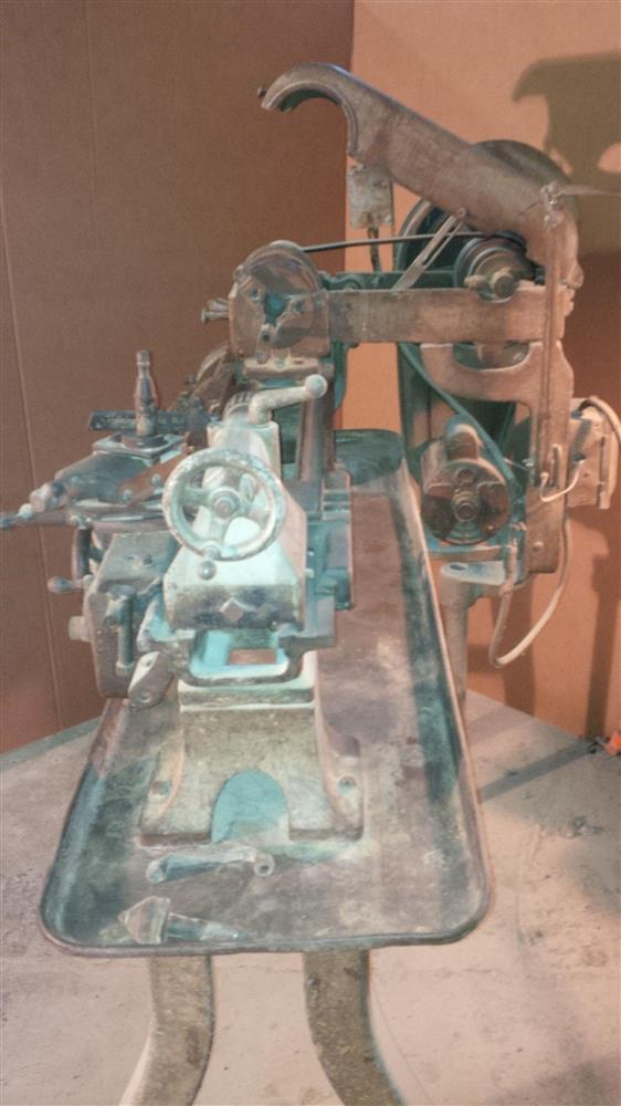 "Image 10"" x 24"" LOGAN Model 820 Lathe 676143"