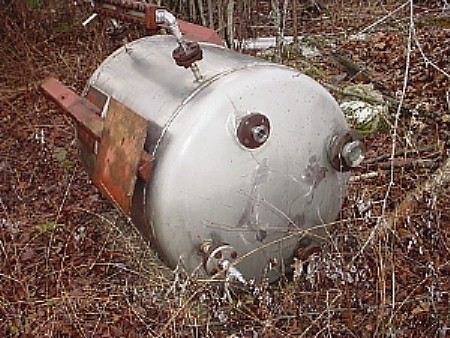 Image 100 Gallon Stainless Steel Tank 676169