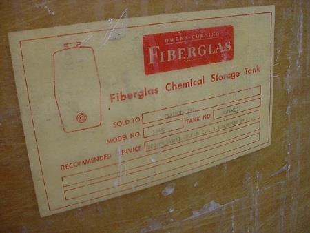 Image 8,000 Gallon Fiberglass Tank 682767