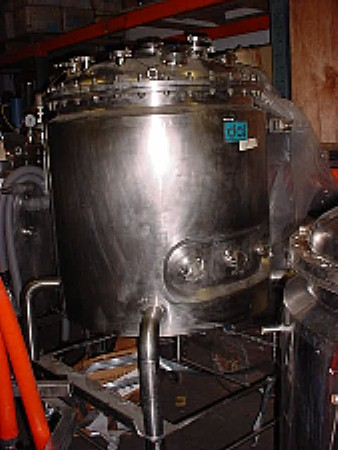 Image 132 Gallon DAIRY CRAFT Stainless Steel Reactor 676305