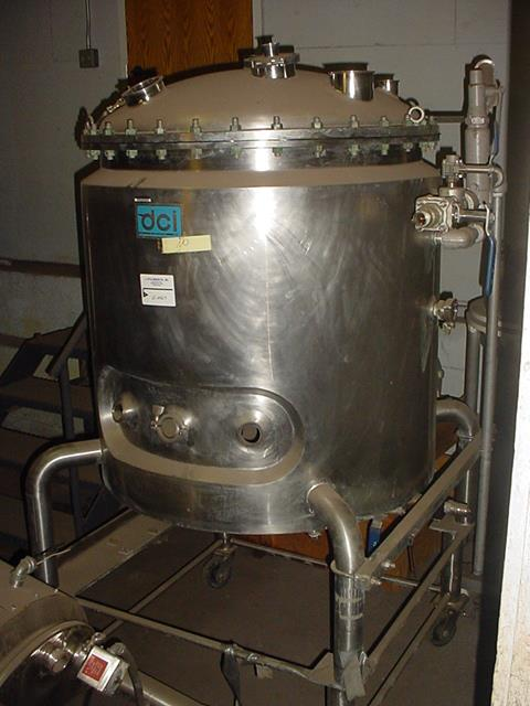 Image 132 Gallon DAIRY CRAFT Stainless Steel Reactor 1102752
