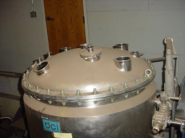 Image 132 Gallon DAIRY CRAFT Stainless Steel Reactor 1102753