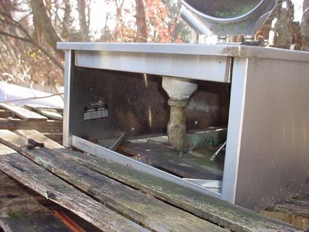 Image 10 Gallon Stainless Steel Steam Jacketed Tilt Kettle 1570867
