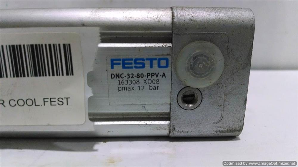Image FESTO Air Cylinder (Lot of 8) 676413