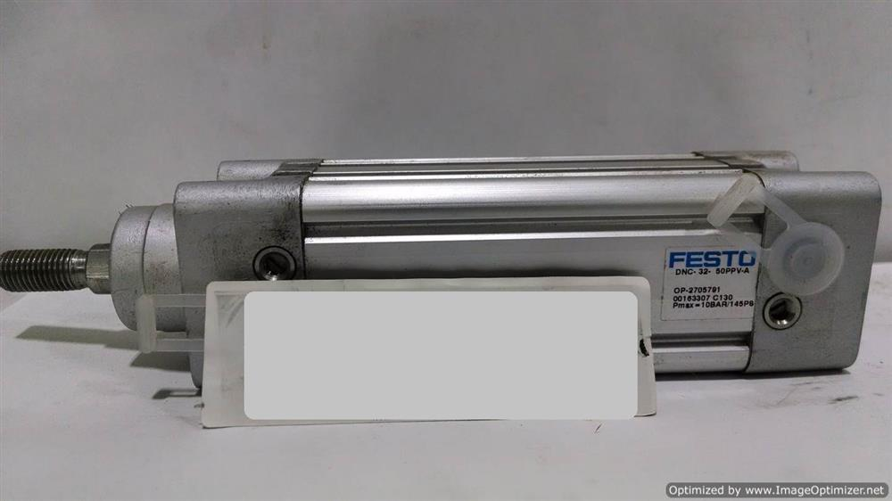 Image FESTO Cylinder DNU-32-50-PPV-A (Lot of 7) 676415
