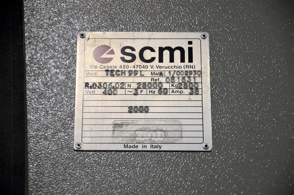 Image SCMI Tech99L CNC Machining Center 676440