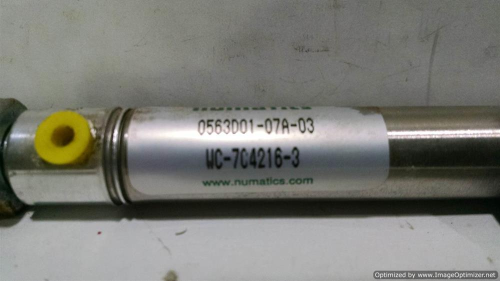 Image BIMBA & NUMATICS Air Cylinders (Various) (Lot of 7) 676466