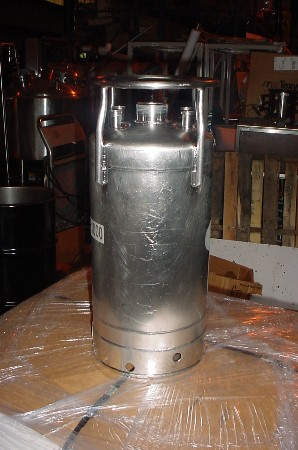 Image 3.5 Gallon ALLOY PRODUCTS Stainless Steel Pressure Tank 676528