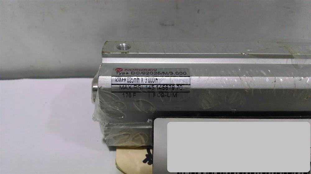Image NORGREN DC Cylinder (Lot of 2) 676587