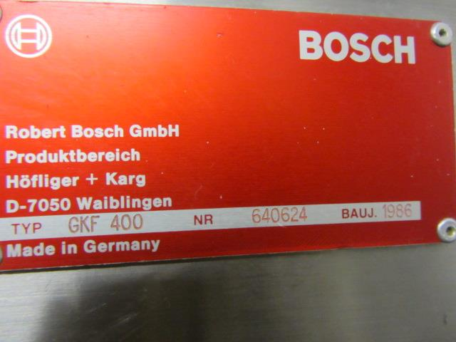 Image BOSCH GKF 400 Capsule Filler With Size 1 Change Parts  676729