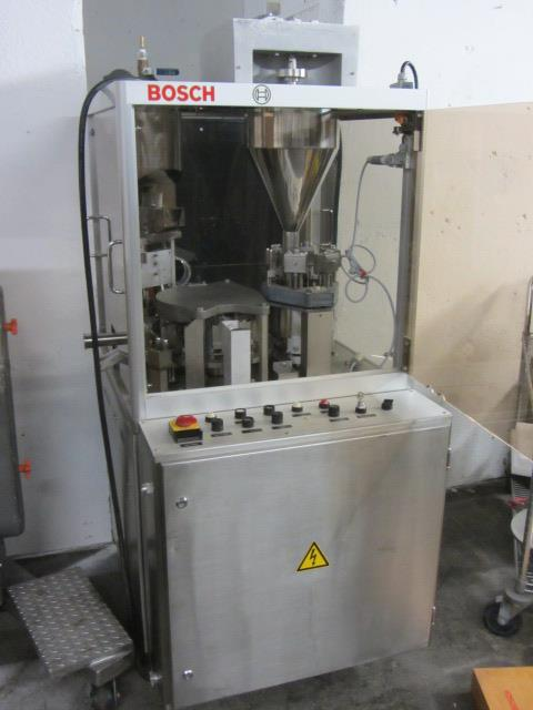 Image BOSCH GKF 400 Capsule Filler With Size 1 Change Parts  676730