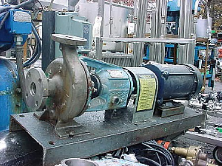 Image 1in X 1.5in ALLIS CHALMERS Stainless Steel Centrifugal Pump 676966