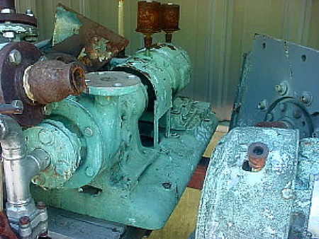 Image 1 X 1in GOULDS Stainless Steel Centrifugal Pump 676967