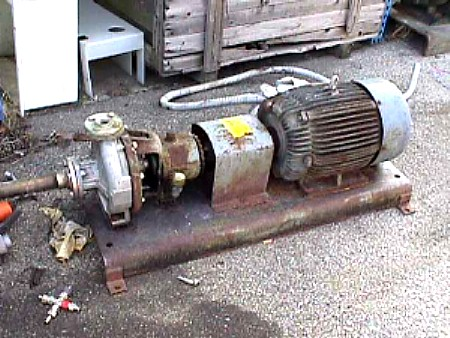 Image 1 X 1.5in DURCO Stainless Steel Centrifugal Pump 676969